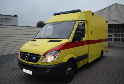 Ambulance Mercedes Sprinter 368 wass caisson